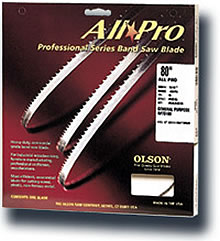 Image of Olson All Pro Band Saw Blades